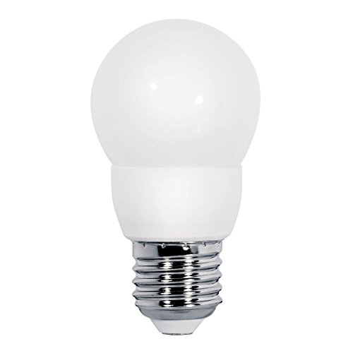 91 Matt (E27 mini LED 2,5 Watt warmweiß L 91mm 220/230V Milchglas matt Lampe Leuchtmittel Kronleuchter)