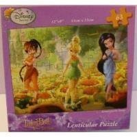 Disney Fairies TinkerBell and The Lost Treasure Lenticular 63 Piece Puzzle by Cardinal