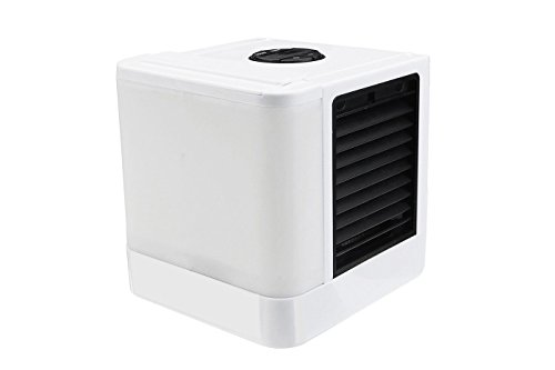 Tempo di saldi ventilatore portatile raffrescatore evaporativo ad acqua umidificatore bianco