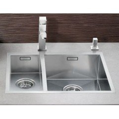 Preisvergleich Produktbild Blanco Zerox 180-IF Edelstahl-Spüle Restebecken Küchenspüle Flächenbündig klein