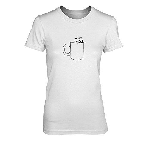 Gimme some more - Damen T-Shirt, Größe: XL, Farbe: (Koffein Süchtig Kostüm)