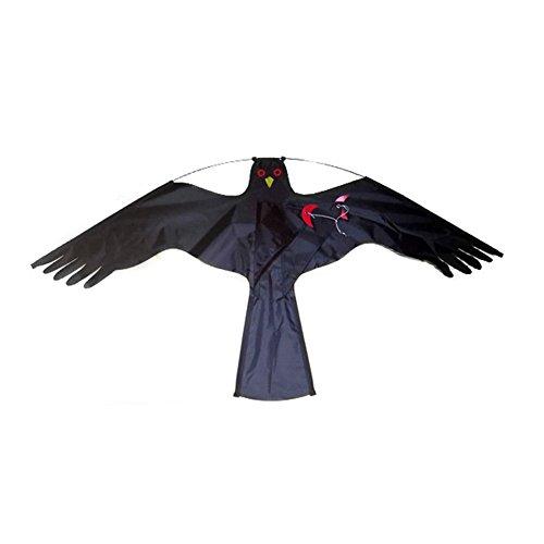 ZREAL Lenkrad Hirsch leicht und robust Hirsch Adler Vogel Scarer Flying Hawk Kite Kit für Garten Schlitten Yard Haus Dekoration 3