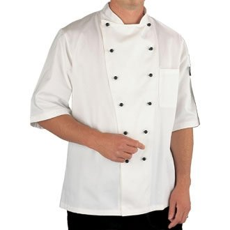 Winware Marche Chef Jacket (Short Sleeve) Executive Chefs Jacket
