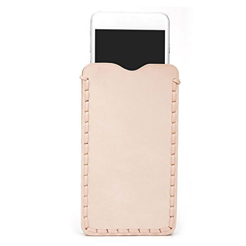 Kroo Étui ultra fin en cuir véritable pour téléphone portable Asus ZenFone 2ze550ml et Marron - peau Marron - peau