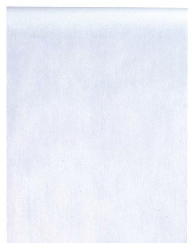 Santex - Chemin De Table Uni En Tissu Non Tisse Blanc