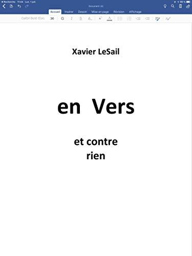 Couverture du livre En Vers et contre rien