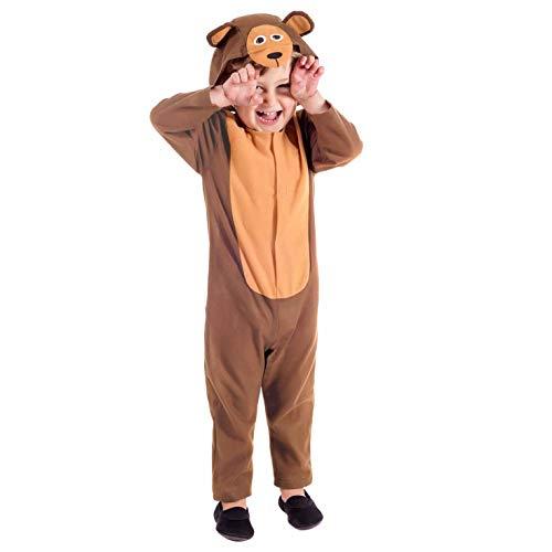 Fun Shack FNK4466-102 Kostüm, Unisex Children, bär, Größe S
