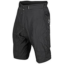 Spiuk Urban Pantalones Cortos, Hombre, Negro, XL