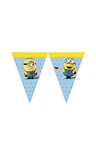 Procos 87182-row Minions Flags-Yellow/Bleu Clair