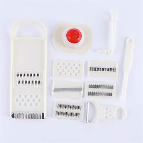 Preisvergleich Produktbild KYMLL 11 Stück Set Kartoffel Shredded Slice Peeler Set Multifunktions Shredder Edelstahl Schäler Gemüse Und Obst Gemüseschäler