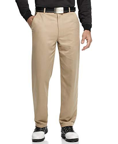 Greg Norman Men's 5 Iron Flat Front Golf Pants