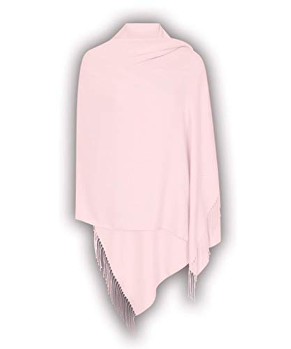 Hellblaues Rosa Hergestellt in Italien (37 Schöne Farben Erhältlich) Pashmina Schal Stola Umschlagtücher Tuch für Damen - Super Weich - Exklusiv von Pashminas & Wraps aus  London Formale Schal
