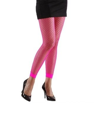 Widmann 20456 Neon Netzstrumpfhose, Pink, Einheitsgröße