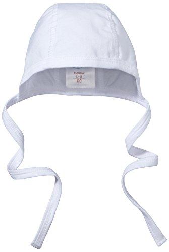 Sterntaler Baby - Mädchen Mütze Häubchen, Gr. 35, Weiß (weiß 500)