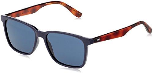 Tommy hilfiger th 1486/s ku pjp 55 occhiali da sole, blu bluee avio, uomo