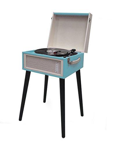 Akai r451s - Tocadiscos Estilo Vintage. Conversor de Vinilos a CD, Bluetooth