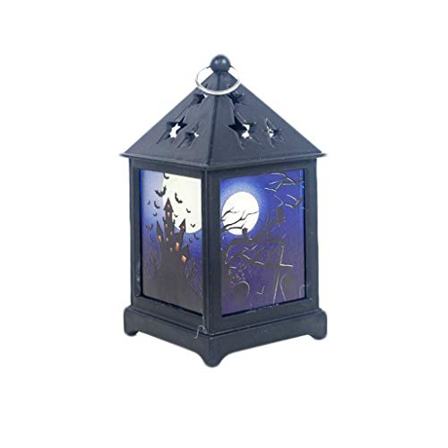 2019 Halloween deco Kürbis Licht Lampe Tür Raumdekoration LED Laterne Party Home Requisiten (A) (Halloween-partys In 2019 London)