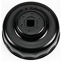 SENRISE llave de filtro de aceite, 76 mm x 14 flautas tapa filtro de aceite