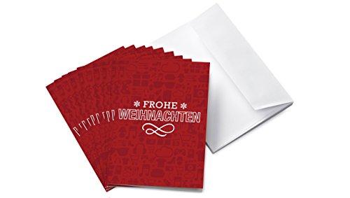 Amazon.de Grußkarte mit Geschenkgutschein - 10 Karten zu je 20 EUR (Weihnachten)