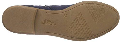 s.Oliver Damen 5-5-25304-36 Schlupfstiefel Blau (NAVY 805)