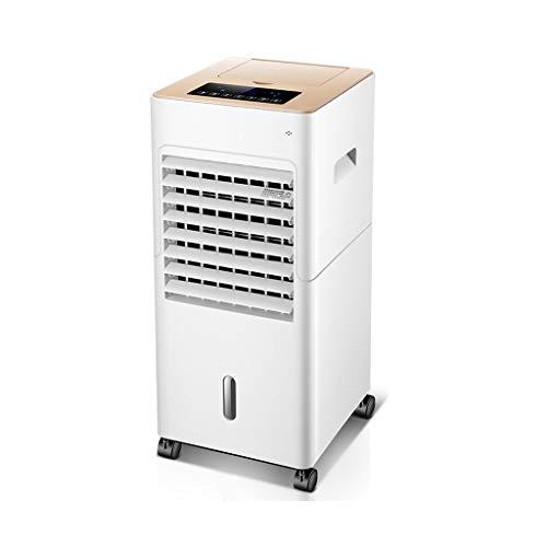 W-EVAPORATIVE Refroidisseur d'air, Climatiseur Mobile sans Evacuation Télécommande Purificateur dair Silencieux Climatiseur Portatif,pour Maison/Bureau (Color : White)