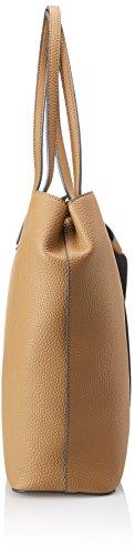 Blu Byblos 675081, Borsa a Tracolla Donna, 10.5 x 32.5 x 43 cm (W x H x L) Beige (Camel)