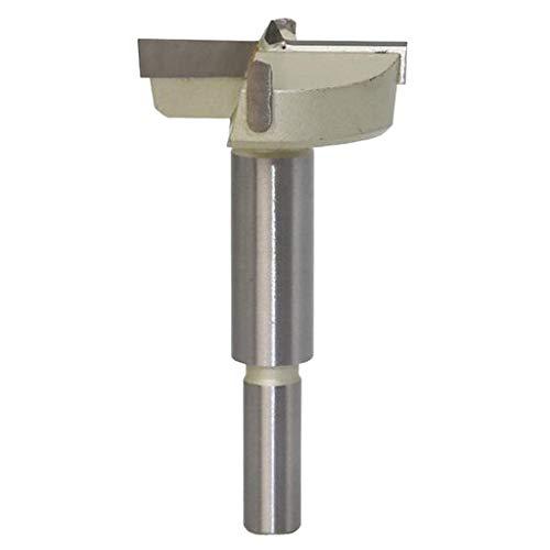 B Blesiya Forstnerbohrer Oberfräser Fräsköpfe Topfbohrer mit Zentrierspitze, für Hartholz Kunststoff - 45 mm