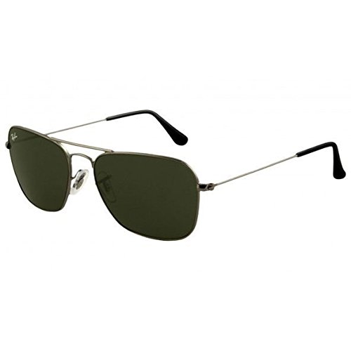 ray-ban-3136-004-gunmetal-caravan-square-aviator-sunglasses-lens-category-3-siz