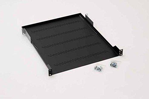 Preisvergleich Produktbild Fachboden perforiert 1HE 450mm RAB-UP-450-A1 schwarz
