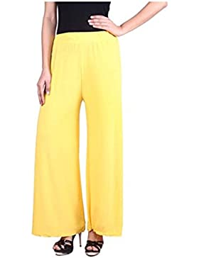 Indian Handicrfats Export Sizzlacious Regular Fit Women's Yellow Trousers