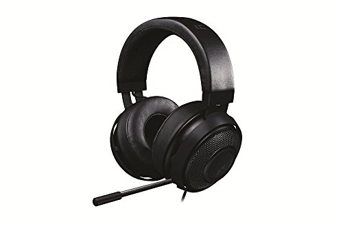 Kraken Pro V2 - Nuovo da Gioco Analogiche Over-Ear - Gaming Headset con nuovo 50mm Drivers per PC e PS4, Nero