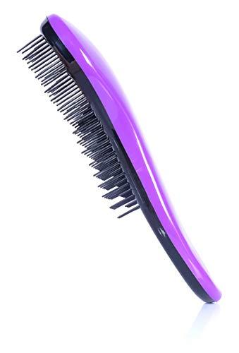Bocca entwirrende Haarbürste mit Griff | Kompakt und ideal zur Aufbewahrung in der Handtasche und...
