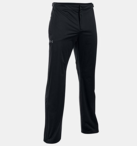 Under Armour 2016 Storm 3 Rain Pants Mens Waterproof/Windproof Performance Golf Trousers Black XL x 34