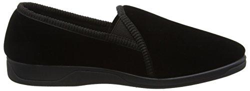 DunlopDuncan - Pantofole uomo Nero (Nero)