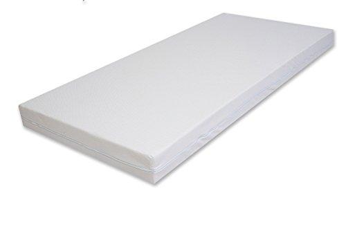 Best For You Best Comfort - Colchón de espuma fría con certificado TÜV, varios tamaños a elegir, desde 60 x 120 x 14 cm a 200 x 200 x 14 cm