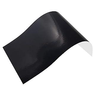 Neoxxim 37,19€/m² - Plotterfolie Glanz 2 - Schwarz - 30 x 106 cm -Plotter Folie Möbelfolie Matt Oder Glanz Viele Farben Größen wählbar