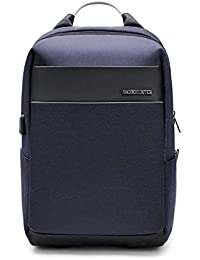Laptop Backpack with External USB Charging Point Bags for Men Women Casual  Travel Bag - Blue 3d3392c20d8c2