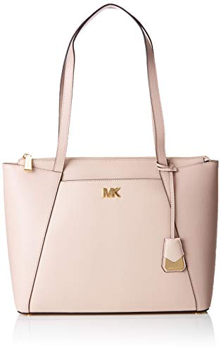Michael Kors Damen Maddie Medium Crossgrain Leather Tote Soft Pink, 12,7x27,3x38 cm - Handtasche Frauen Kors Michael