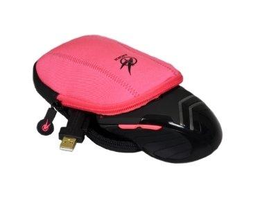 Port Designs 901705 Mouse Pouch EVA (Ethylene Vinyl Acetate),Neoprene,Velvet Pink peripheral device
