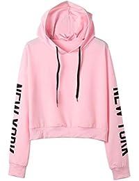 45be95b04 Amazon.es  Letras Para Camisetas - Rosa   Mujer  Ropa