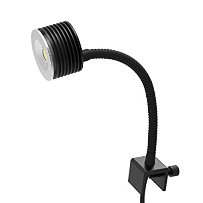 Shenzhen KOTO Electronic Technology Co.,Ltd LED Lampe d'aquarium d'eau Douce ou Salée Planté Réservoir Lumières Collier de Serrage pour Aquarium de Récif de Corail avec col de Cygne