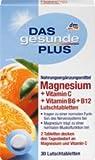 DAS gesunde PLUS Magnesium + Vitamin C + Vitamin B6 + B12 Lutschtabletten, 1 Packung mit 30 Stück Nahrungsergänzungsmittel