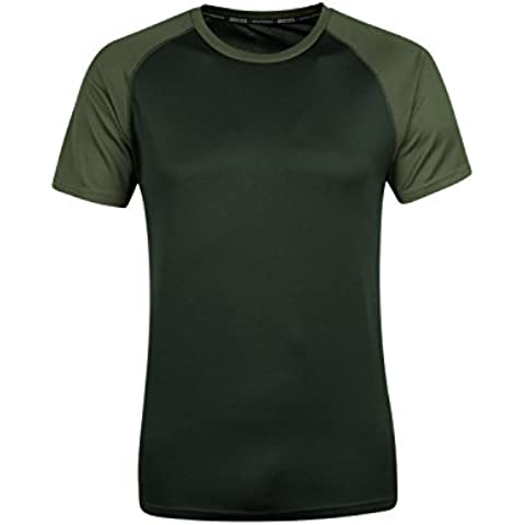 Mountain Warehouse T-shirt strato base a maniche corte Endurance da