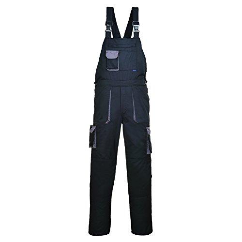 Workwear World Contrast Trim Salopette Salopette da Lavoro Ginocchiera XS-4x L Navy/Royal XXXXL Regolare