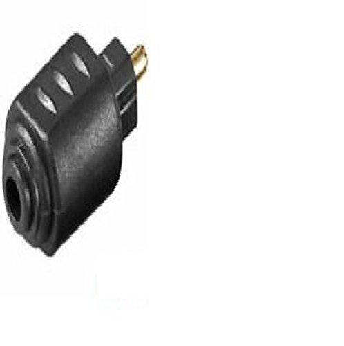 Vivanco 15420 SP-DIF Adapter Optisch 3,5mm Mini-Stecker Doppel-Kupplung Toslink