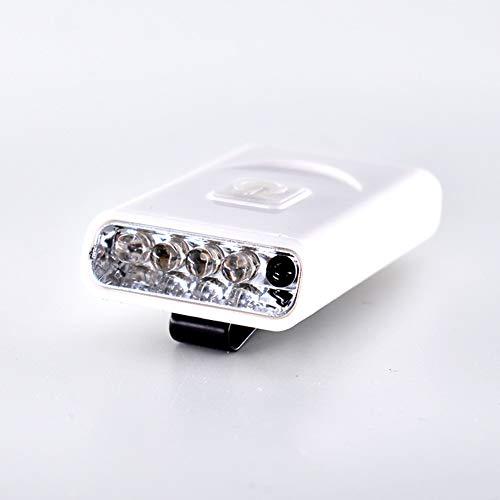 Sanqing Wiederaufladbare LED-Scheinwerferlampe mit LED-Funktion,White