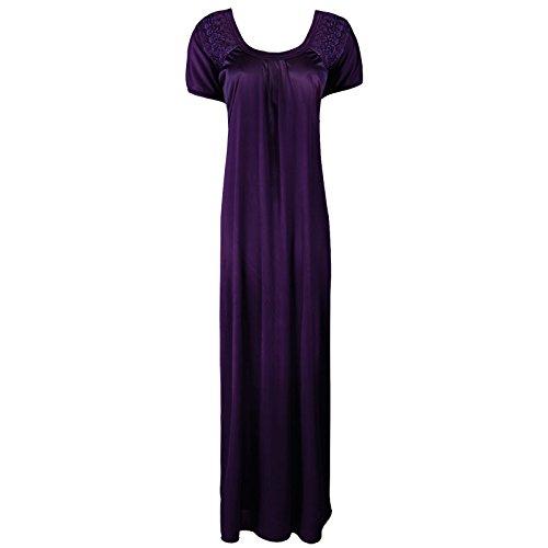 The Orange Tags -  Camicia da notte  - Maniche corte  - Donna Drak Purple