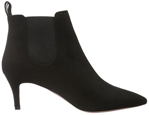 Oxitaly Damen Sara 31 Chelsea Boots Schwarz (Nero)