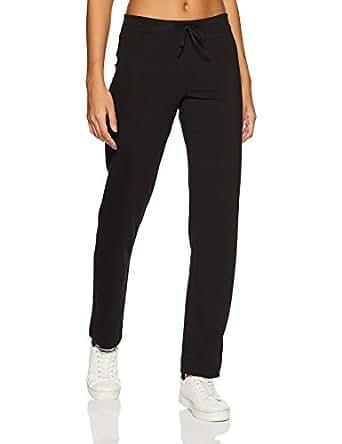 Jockey Women's Cotton Lounge Pants (1301-0105-BLACKSmall)