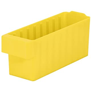akro-mils 31168akrodrawer Kunststoff Schublade, 17-5/20,3cm L x 5-9/40,6cm W x 4-5/20,3cm H, 31168YEL